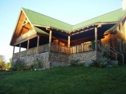 Poconos Luxury Log Cabin Vacation Rental