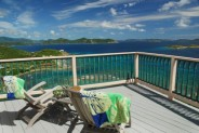 Tradewinds Cottage, St. John, USVI - panoramic ocean views from every window