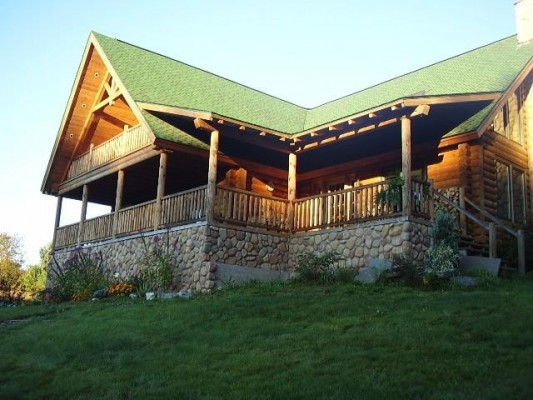 luxury log cabin in the poconos pennsylvania vacation